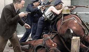 Spanish Civil War In Barcelona