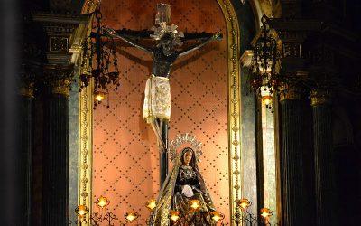 The Christ who dodget a cannonball / El Cristo que esquivó una bala